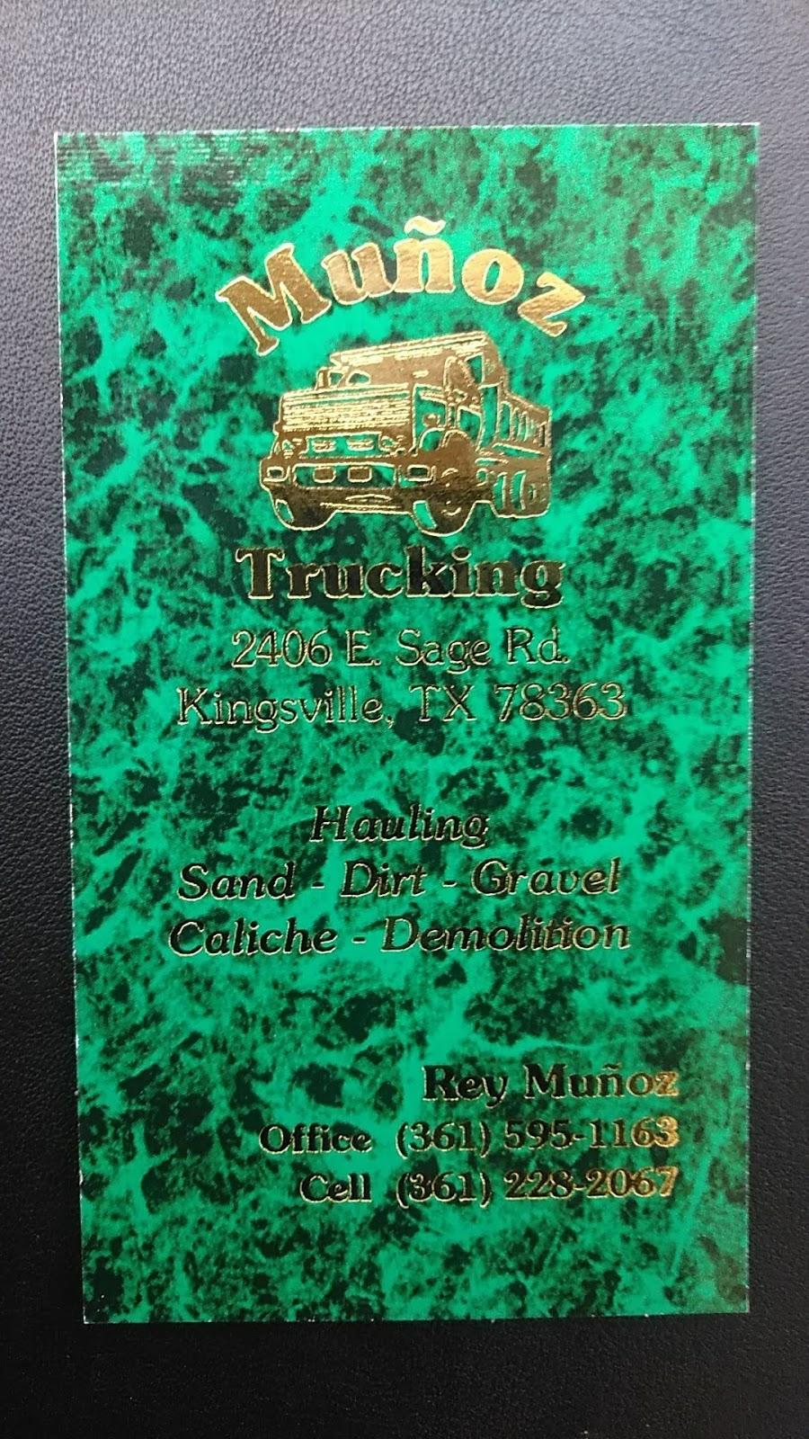 Munoz Trucking - moving company  | Photo 1 of 1 | Address: 2406 E Sage Rd, Kingsville, TX 78363, USA | Phone: (361) 595-1163
