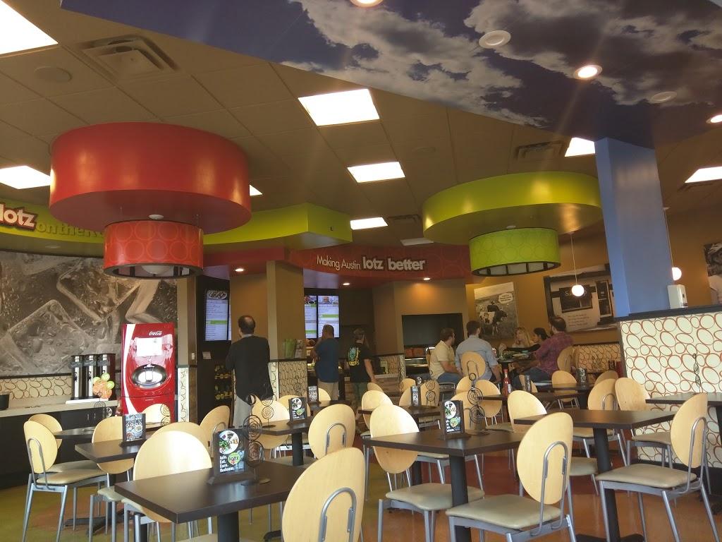 Schlotzskys - bakery    Photo 6 of 10   Address: 8300 N FM 620 a100, Austin, TX 78726, USA   Phone: (512) 258-3500