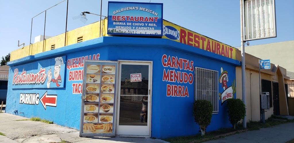 Balbuenas Mexican Restaurant - restaurant    Photo 1 of 10   Address: 10925 1/2 S. Figueroa, Los Angeles, CA 90061, USA   Phone: (323) 418-8502
