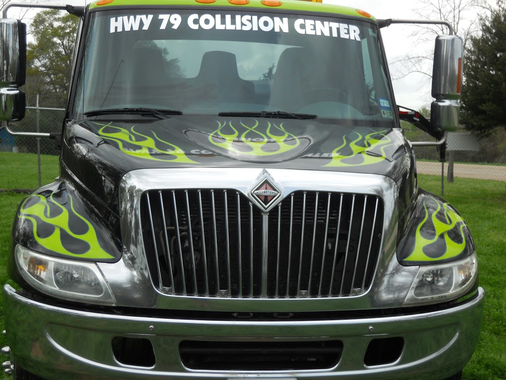 Highway 79 Collision Center - car repair    Photo 1 of 5   Address: 9988 US-79, Franklin, TX 77856, USA   Phone: (979) 828-2886