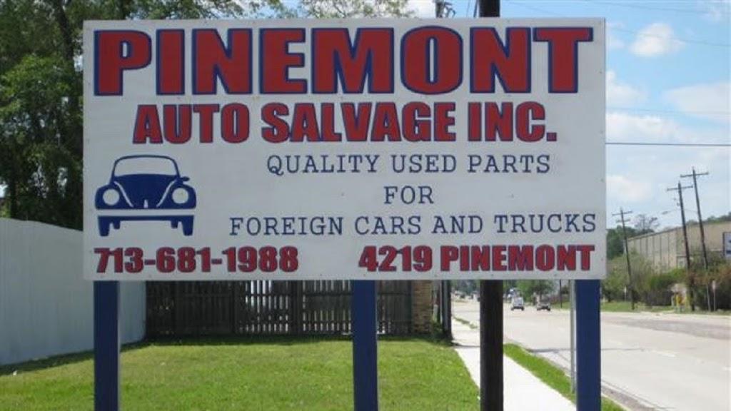 Pinemont Auto Salvage, Inc. - car repair  | Photo 6 of 10 | Address: 4219 Pinemont Dr, Houston, TX 77018, USA | Phone: (713) 681-1988