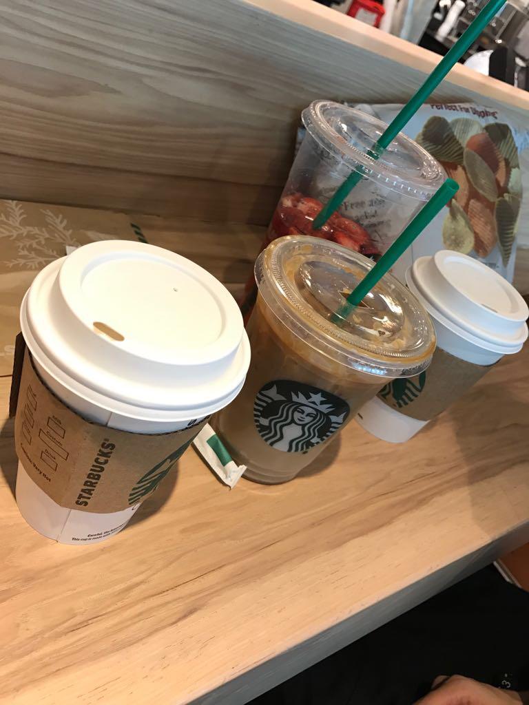 Starbucks - cafe  | Photo 9 of 10 | Address: HMS Host - Terminal one JFK Airport Buil, Jamaica, NY 11430, USA | Phone: (718) 751-2892