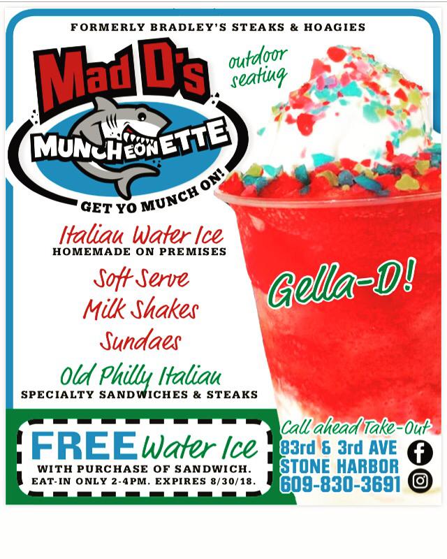 Mad Ds Muncheonette - restaurant  | Photo 10 of 10 | Address: 8307 3rd Ave, Stone Harbor, NJ 08247, USA | Phone: (609) 830-3691