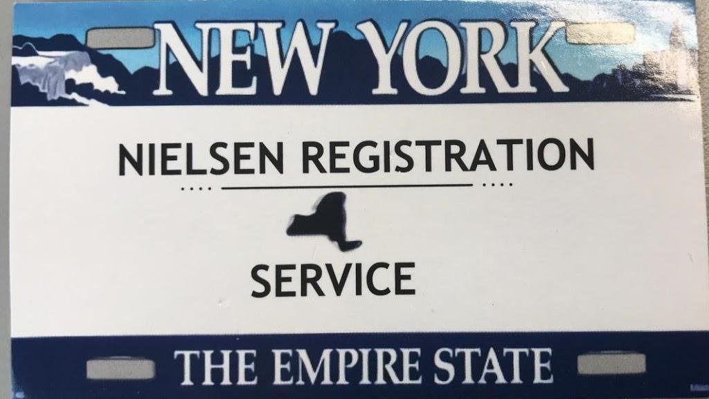 NIELSEN REGISTRATION SERVICE (DMV VEHICLE TRANSACTIONS) | insurance agency | 28 Forest Ave, Lynbrook, NY 11563, USA | 5164059780 OR +1 516-405-9780