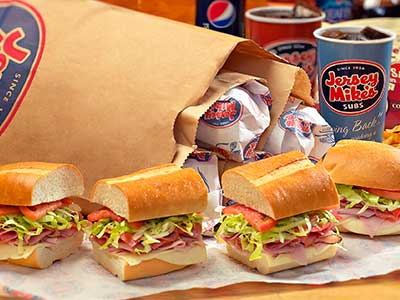 Jersey Mikes Subs - meal takeaway    Photo 1 of 10   Address: 23572 El Toro Rd b, Lake Forest, CA 92630, USA   Phone: (949) 770-0270