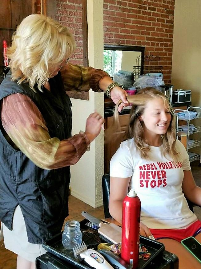 Nikkis Hair Shenanigans at All About You Hair And Tanning Salon - hair care  | Photo 9 of 10 | Address: 9227 County Line Rd, De Motte, IN 46310, USA | Phone: (765) 761-7119