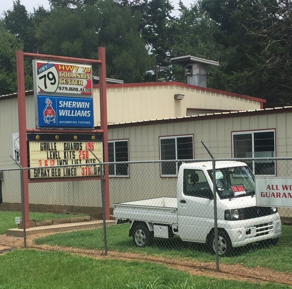 Highway 79 Collision Center - car repair    Photo 5 of 5   Address: 9988 US-79, Franklin, TX 77856, USA   Phone: (979) 828-2886
