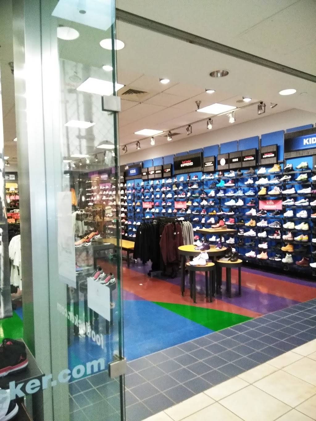 Foot Locker - clothing store    Photo 2 of 3   Address: 1300 W Hickory Point Rd M, Forsyth, IL 62535, USA   Phone: (217) 876-0232