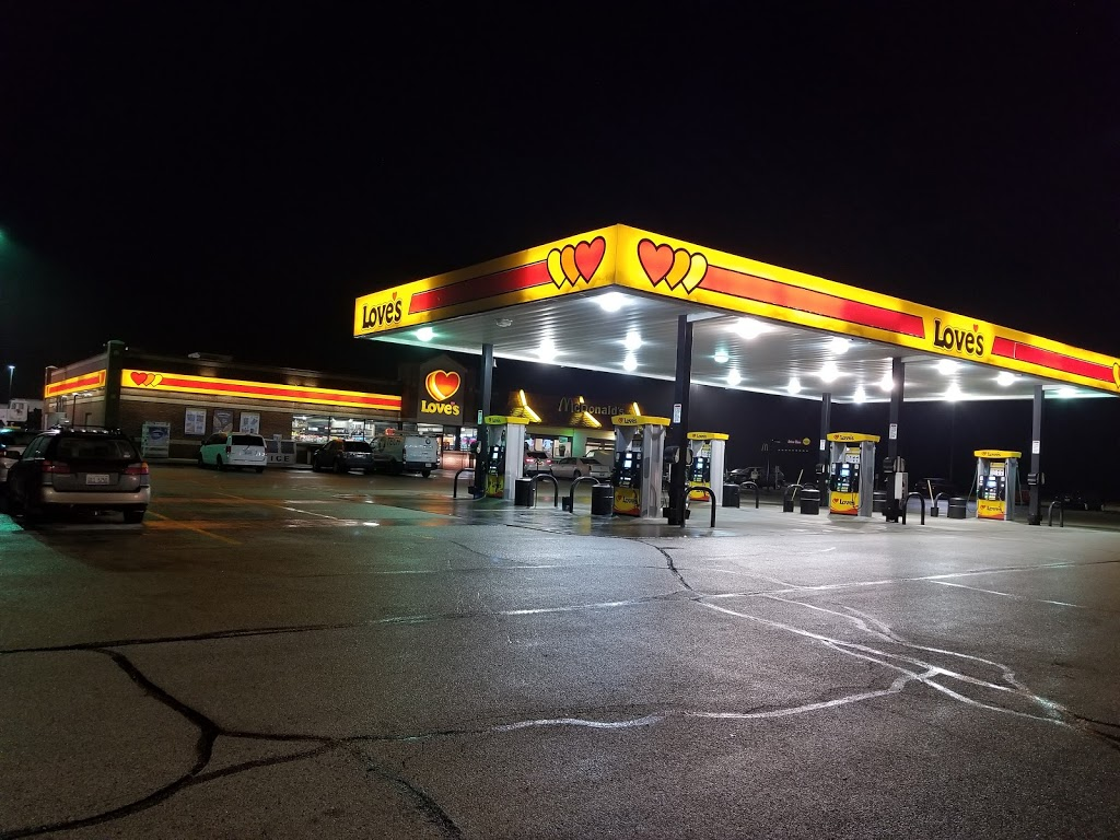 Loves Travel Stop | convenience store | 991 Ann Rutledge Dr, Williamsville, IL 62693, USA | 2175663448 OR +1 217-566-3448