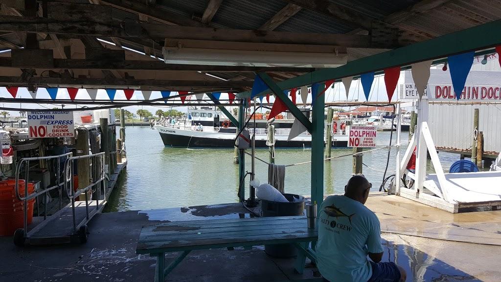 Dolphin Dock Inc. - travel agency  | Photo 7 of 10 | Address: 300 W Cotter Ave, Port Aransas, TX 78373, USA | Phone: (800) 393-3474