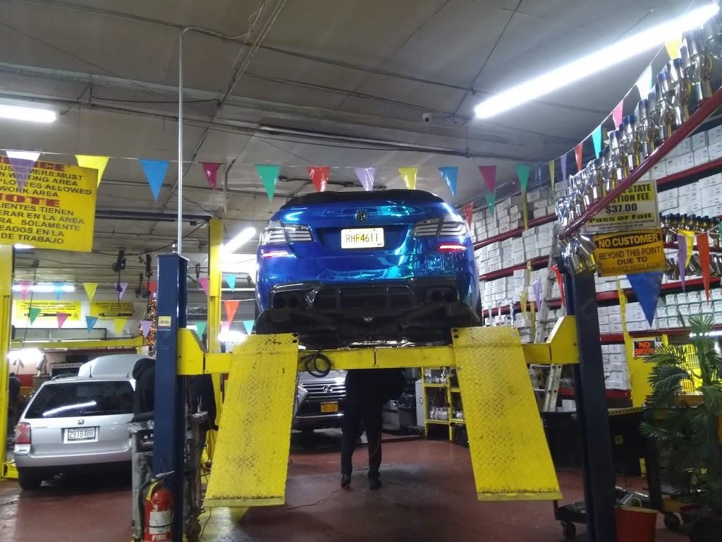 Bronx Discount Muffler Center - car repair    Photo 1 of 10   Address: 501 Bruckner Blvd, Bronx, NY 10455, USA   Phone: (718) 402-4422