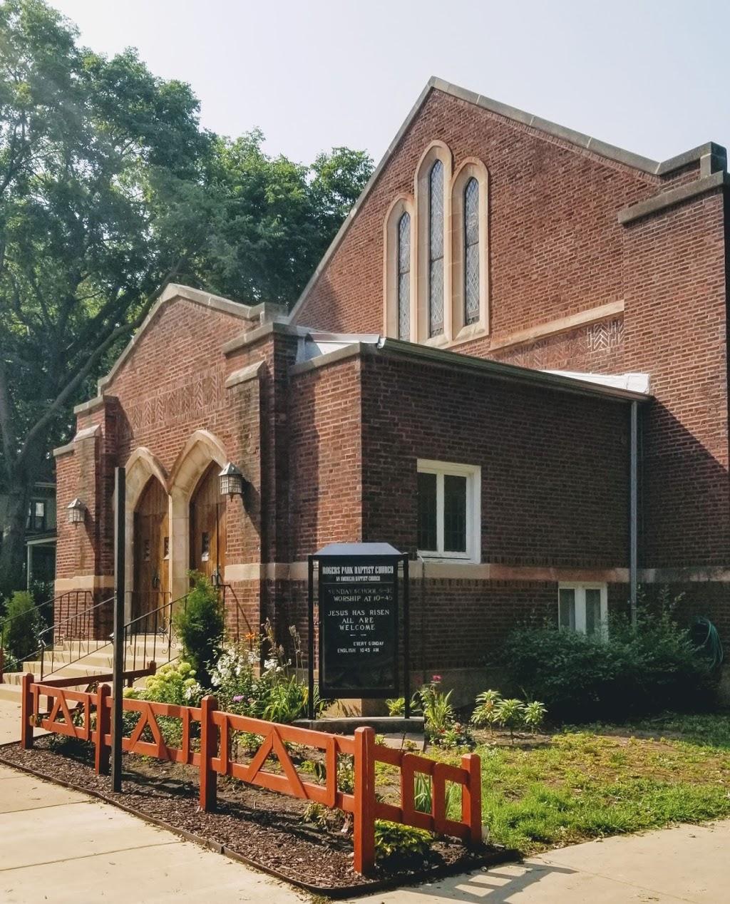 Rogers Park Baptist Church - church  | Photo 1 of 10 | Address: 1900 W Greenleaf Ave, Chicago, IL 60626, USA | Phone: (773) 743-2200