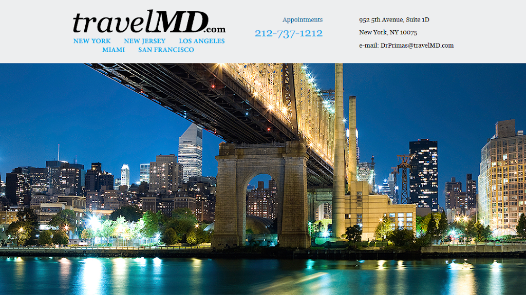 Primas Ronald A MD FACP FACPM DABIHM | doctor | 952 5th Ave #1D, New York, NY 10075, USA | 2127371212 OR +1 212-737-1212