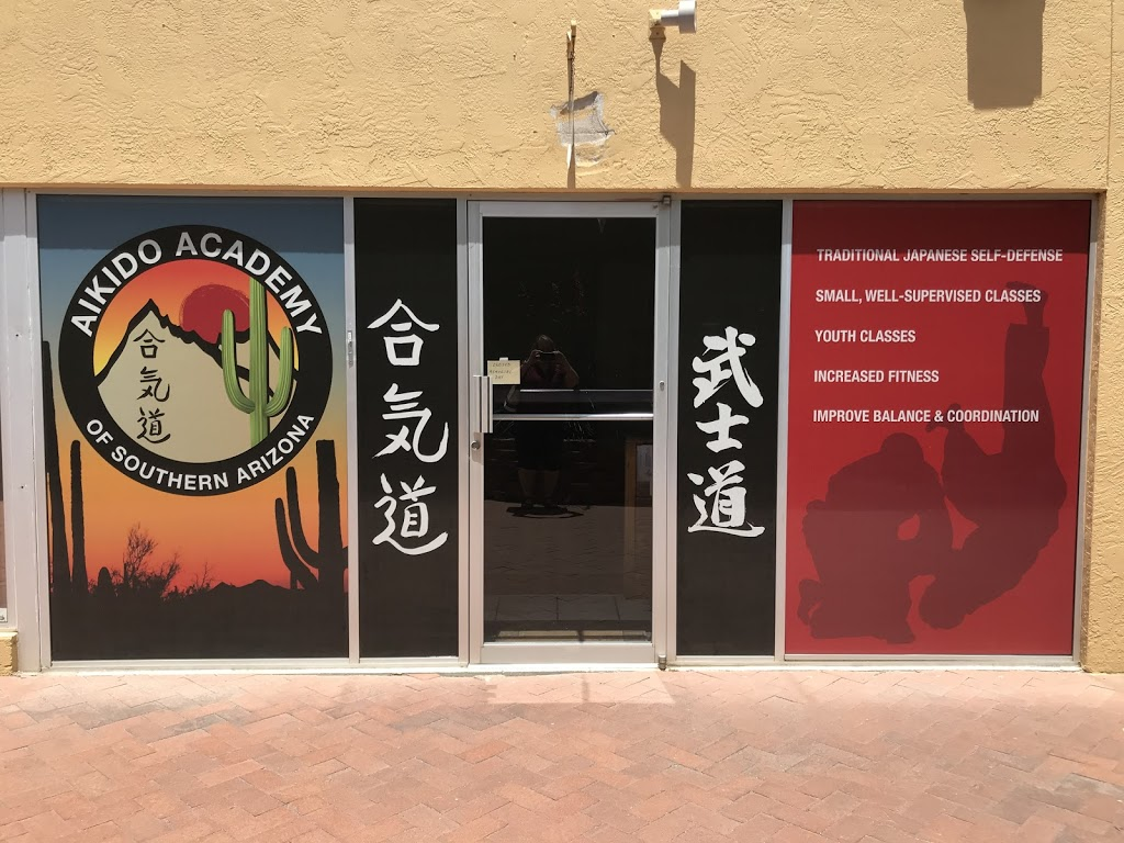 Aikido Academy of Southern Arizona - health    Photo 2 of 2   Address: 16134 N Oracle Rd Ste 134, Catalina, AZ 85739, USA   Phone: (520) 825-8500