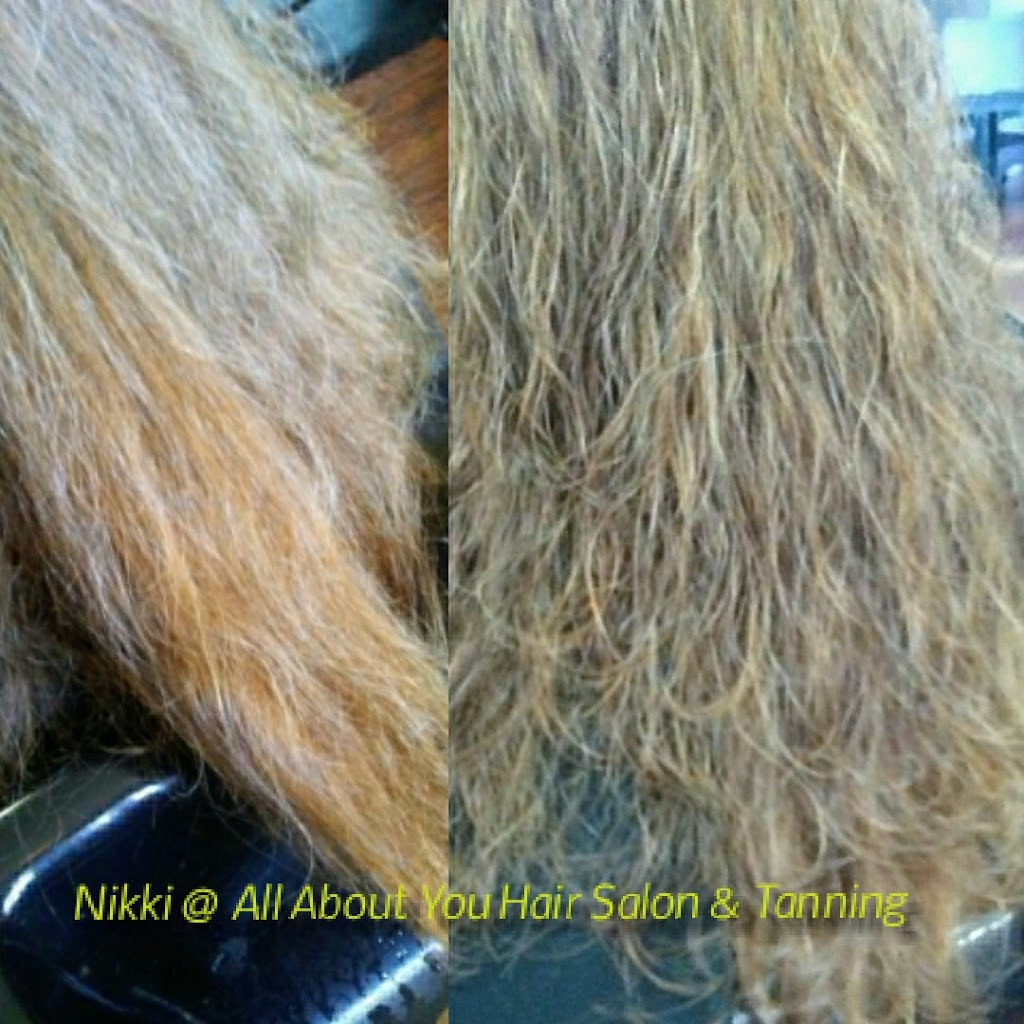 Nikki at All About You Hair Salon and Tanning - hair care  | Photo 9 of 10 | Address: 9075 1200 N, De Motte, IN 46310, USA | Phone: (765) 761-7119