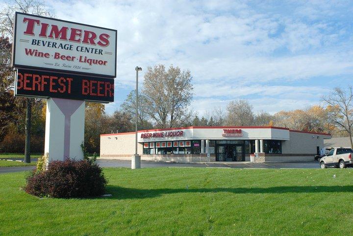 Timers Beverage Center - store    Photo 1 of 10   Address: 3800 Northwestern Ave, Racine, WI 53405, USA   Phone: (262) 637-2704