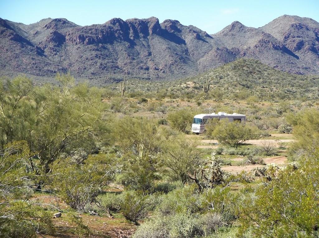 Camp Spot (BLM) - lodging  | Photo 5 of 10 | Address: Morristown, AZ 85342, USA