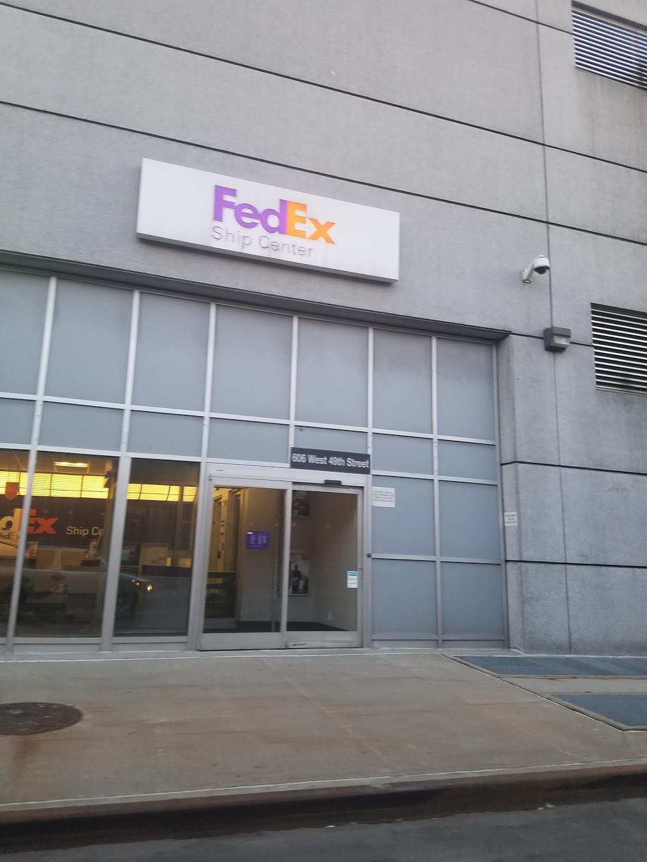 FedEx Ship Center - store  | Photo 1 of 6 | Address: 606 W 49th St, New York, NY 10019, USA | Phone: (800) 463-3339