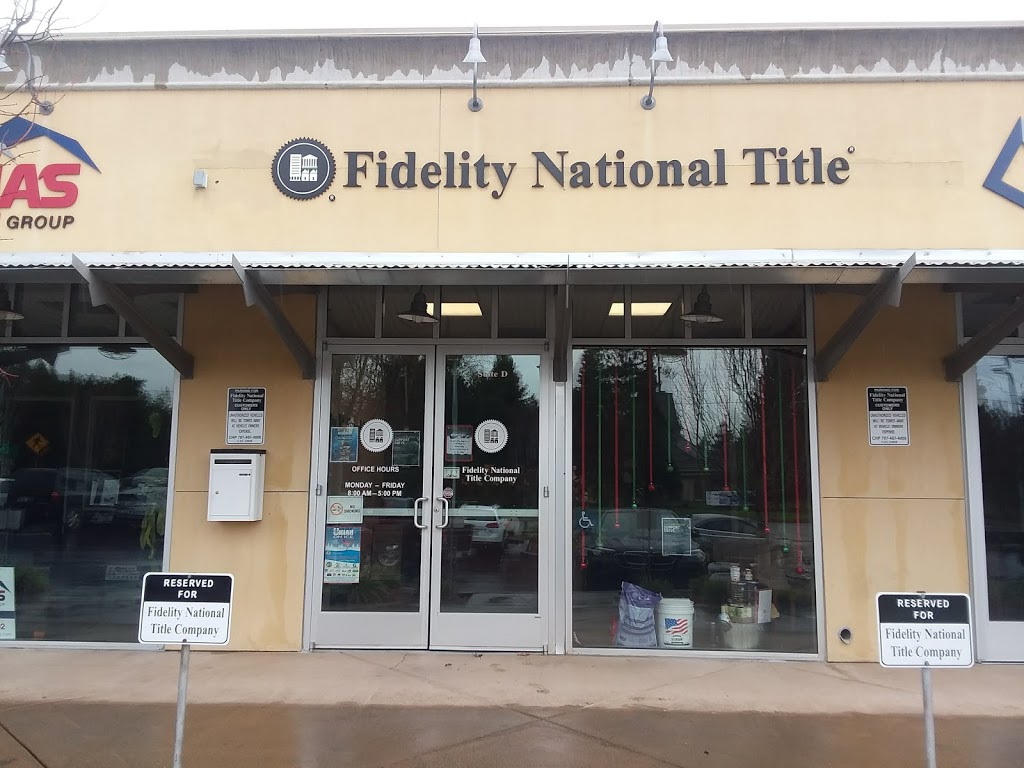 Fidelity National Title Company | insurance agency | 704 E Perkins St d, Ukiah, CA 95482, USA | 7074679212 OR +1 707-467-9212