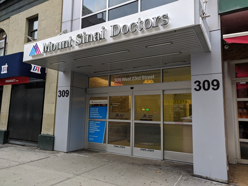 Mount Sinai Doctors - West 23rd Street - doctor  | Photo 7 of 10 | Address: 309 W 23rd St, New York, NY 10011, USA | Phone: (212) 352-2600