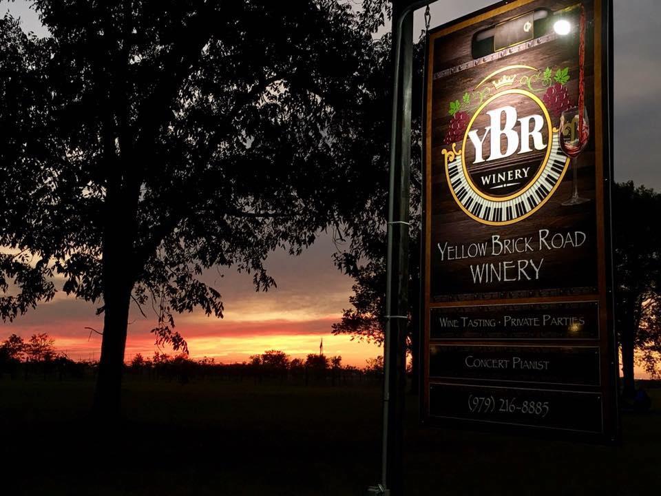 Yellow Brick Road Winery & Restaurant - restaurant    Photo 1 of 10   Address: 3587 Ward Bend Rd, Sealy, TX 77474, USA   Phone: (979) 472-9449