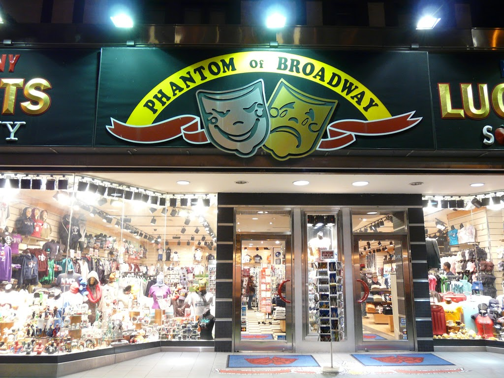 Phantom of Broadway Inc | store | 235 W 42nd St, New York, NY 10036, USA | 2123911930 OR +1 212-391-1930