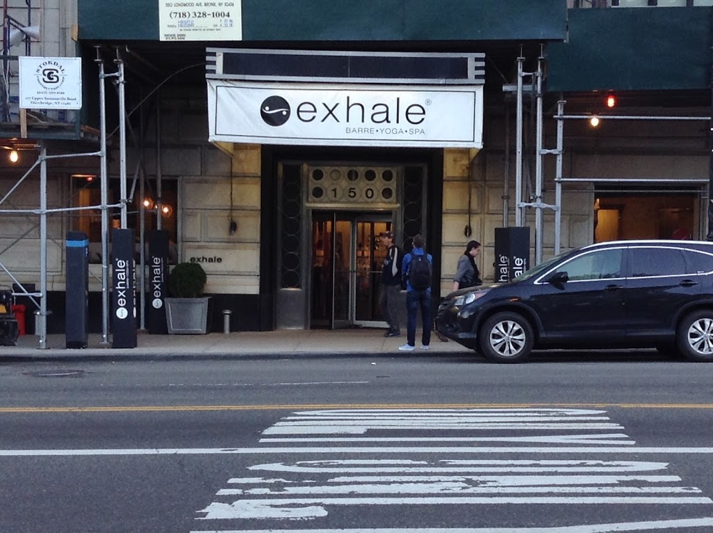 Exhale New York - Central Park South | gym | 150 Central Park S, New York, NY 10019, USA | 2125617400 OR +1 212-561-7400