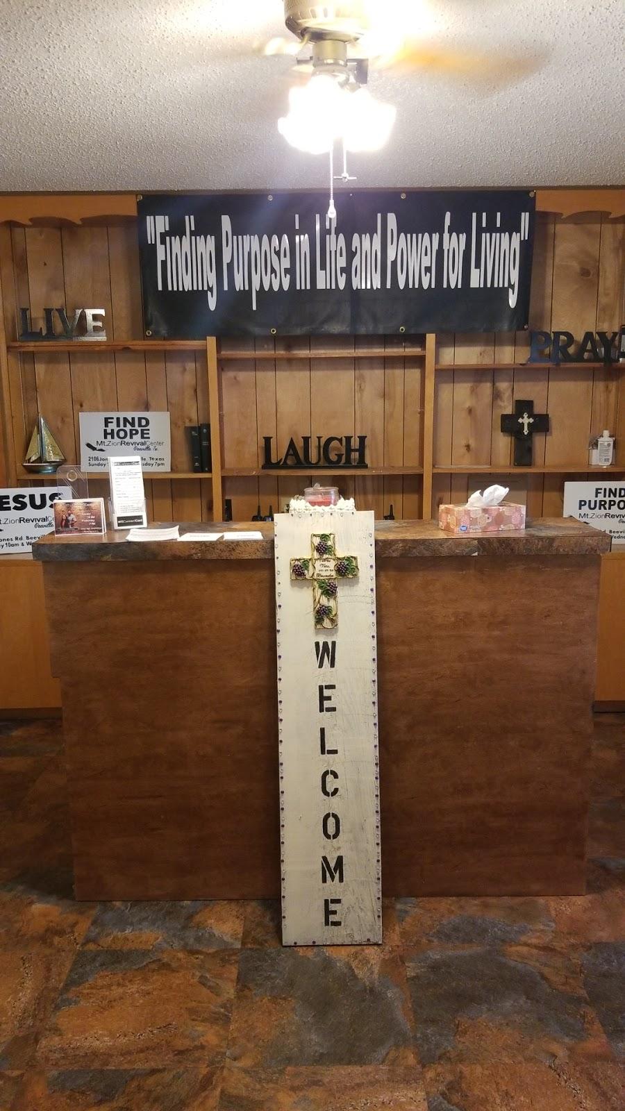 Mt. Zion Revival Center - church  | Photo 1 of 7 | Address: 2106 Jones Rd, Beeville, TX 78102, USA | Phone: (361) 343-5622