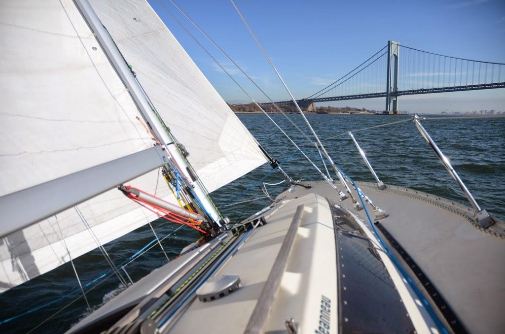 Gotham Sailing - travel agency    Photo 2 of 9   Address: 80 Audrey Zapp Dr, Jersey City, NJ 07305, USA   Phone: (732) 820-0290