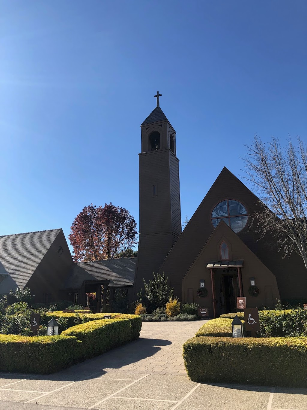 St. Marks-in-the-Valley Episcopal Church - church  | Photo 2 of 10 | Address: 2901 Nojoqui Ave, Los Olivos, CA 93441, USA | Phone: (805) 688-4454