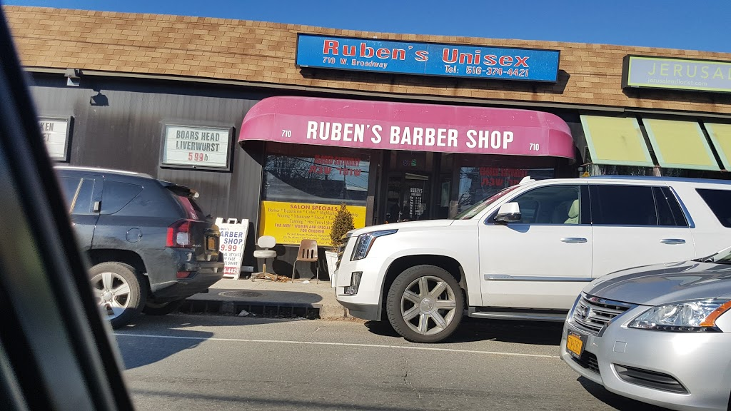 Rubens Barber Shop - hair care  | Photo 1 of 6 | Address: 710 W Broadway, Woodmere, NY 11598, USA | Phone: (516) 374-4421