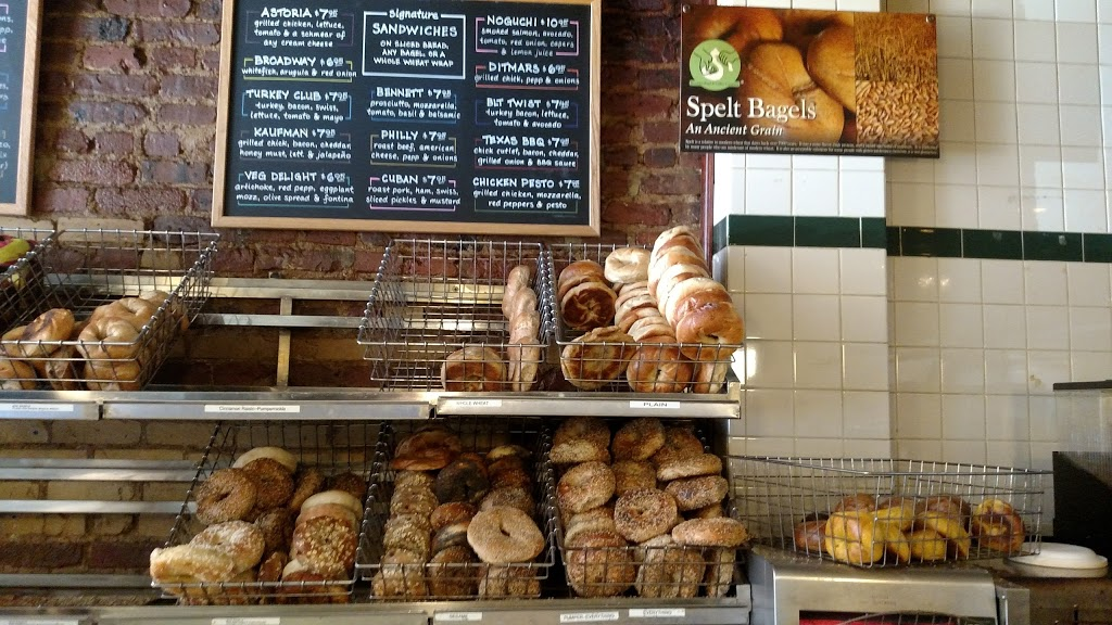 Brooklyn Bagel & Coffee Company - bakery  | Photo 1 of 10 | Address: 286 8th Ave, New York, NY 10001, USA | Phone: (212) 924-2824