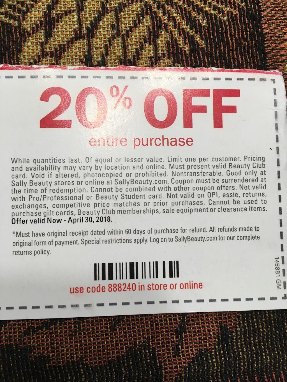 Sally Beauty - store  | Photo 2 of 2 | Address: 374 Walmart Dr, Dover, DE 19904, USA | Phone: (302) 698-3096