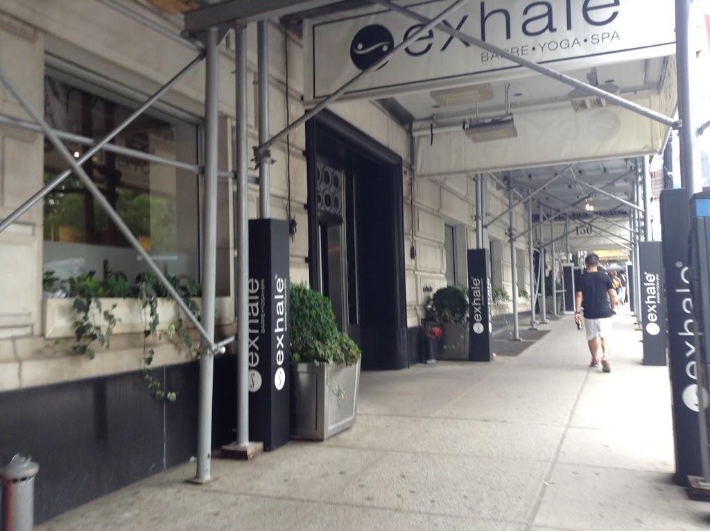 Exhale New York - Central Park South | gym | 150 Central Park S, New York, NY 10019, USA | 2125617400 OR +1 212-561-7400