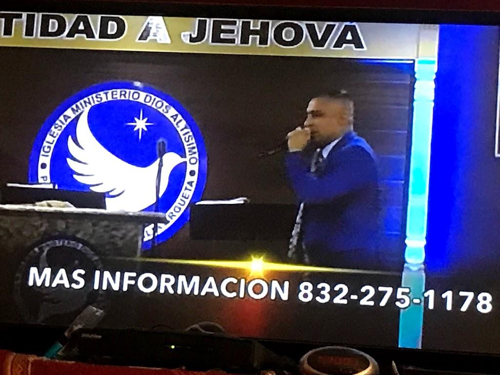 Iglesia Ministerio Dios Altisimo - church    Photo 9 of 10   Address: 11922 Trickey Rd, Houston, TX 77067, USA   Phone: (832) 275-1178