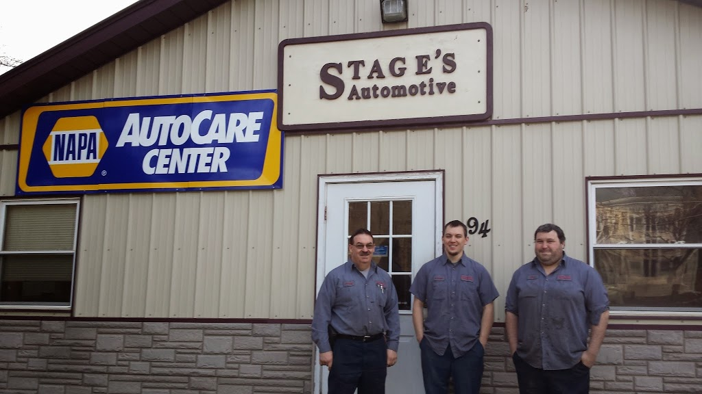 Stages Automotive Services LLC - car repair  | Photo 1 of 3 | Address: 94 N Main St, New Berlin, NY 13411, USA | Phone: (607) 847-6911