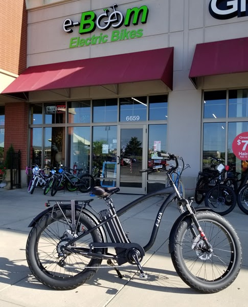 eBoom Electric Bikes - bicycle store  | Photo 8 of 10 | Address: 6 S Main St, Whitestown, IN 46075, USA | Phone: (317) 340-4156