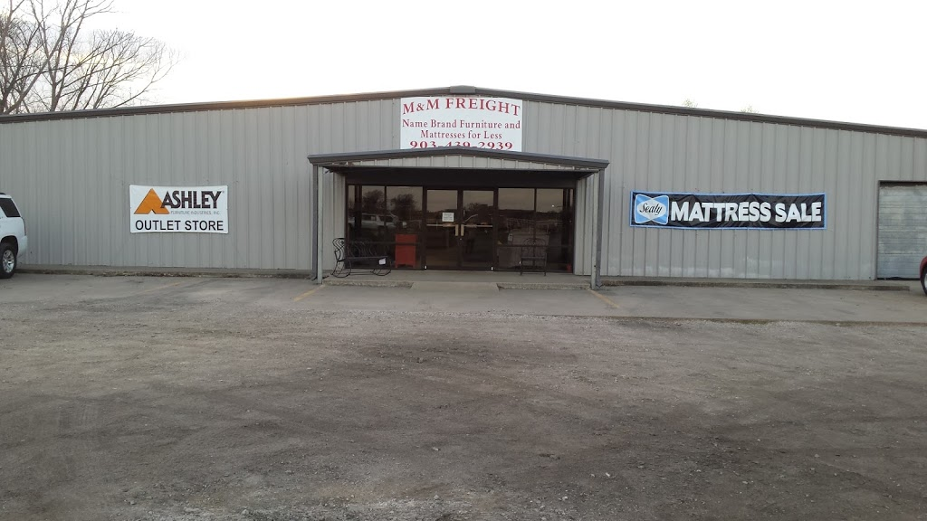 M & M Freight - furniture store    Photo 1 of 8   Address: 2041 S Broadway St, Sulphur Springs, TX 75482, USA   Phone: (903) 439-2939