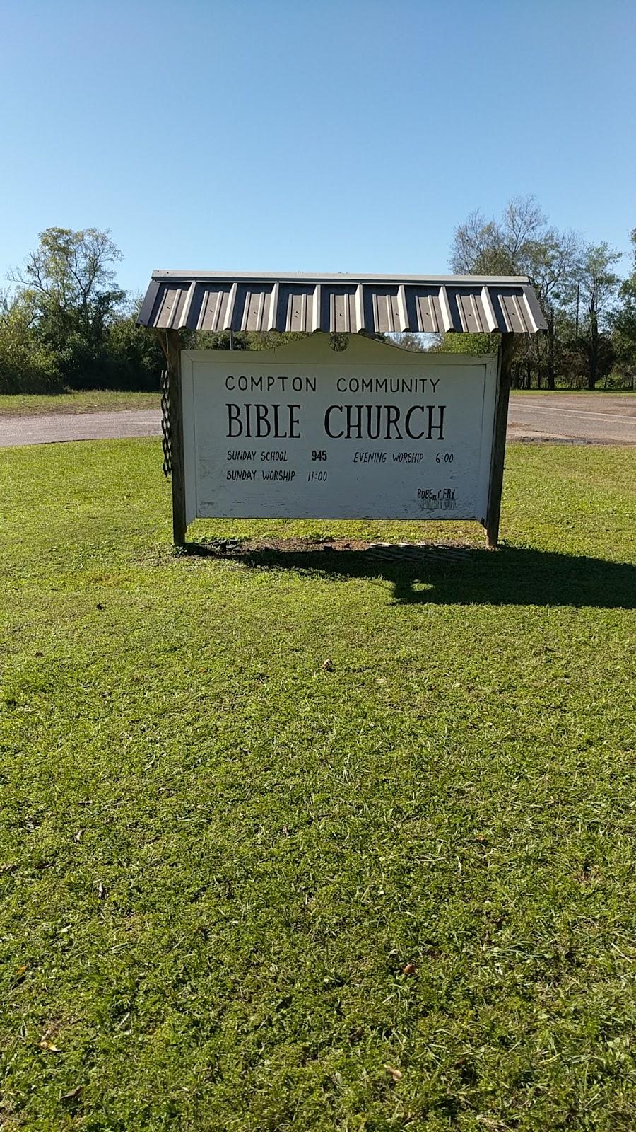 Compton Community Bible Church - church  | Photo 1 of 1 | Address: County Rd 401 S, Henderson, TX 75654, USA | Phone: (936) 222-5602