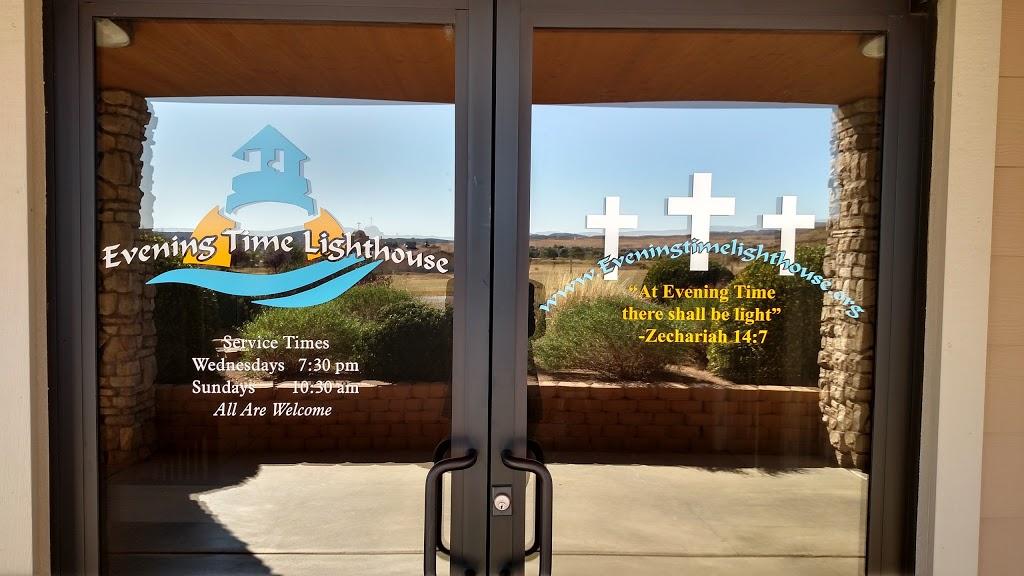 Evening Time Lighthouse - church    Photo 1 of 3   Address: 12015 E Turquoise Cir, Dewey, AZ 86327, USA