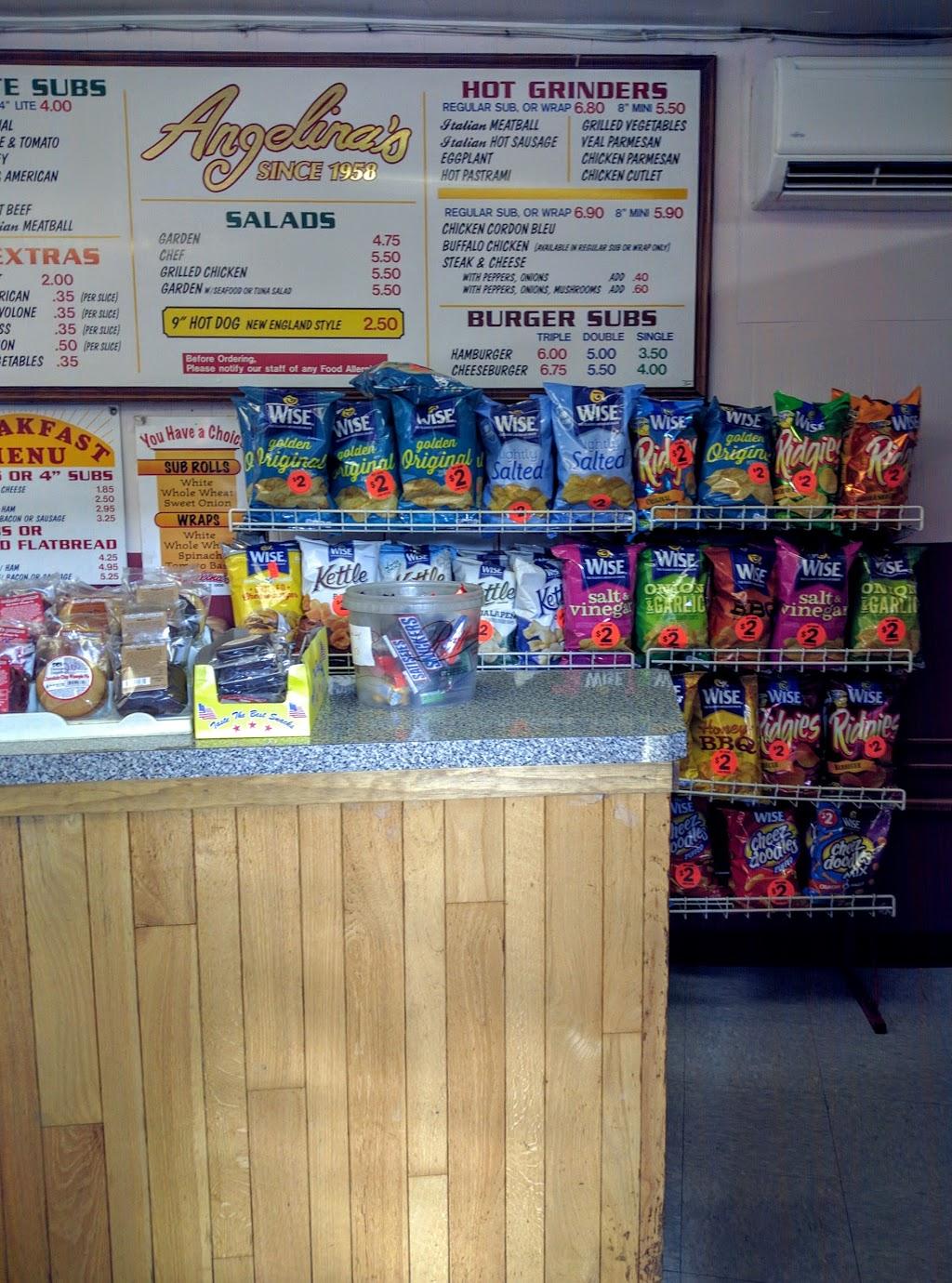 Angelinas Submarine Shop - meal takeaway  | Photo 6 of 9 | Address: 34 1/2 Columbia St, Adams, MA 01220, USA | Phone: (413) 743-9744