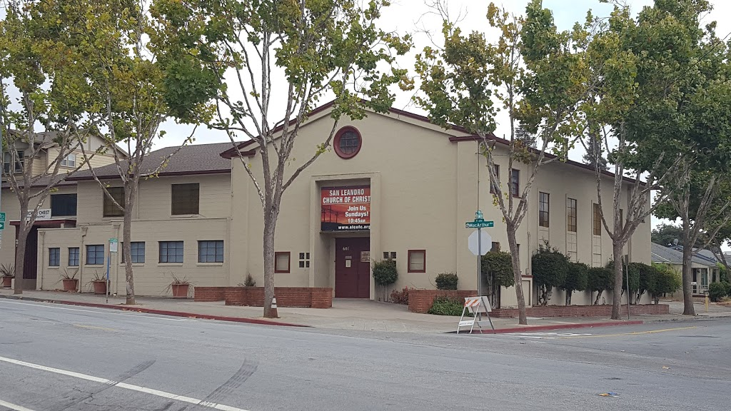 San Leandro Church of Christ - church    Photo 1 of 1   Address: 601 MacArthur Blvd, San Leandro, CA 94577, USA   Phone: (510) 568-7062