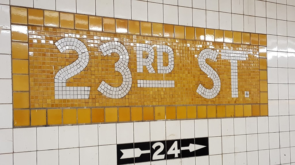 23 Street Station | subway station | New York, NY 10011, USA