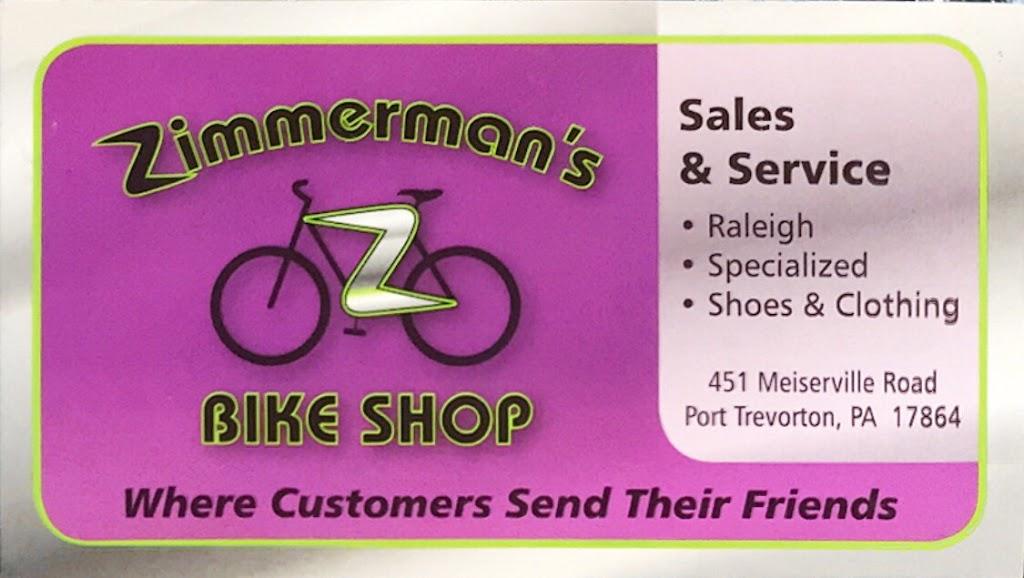 Zimmermans Bike Shop - bicycle store  | Photo 9 of 10 | Address: 451 Meiserville Rd, Port Trevorton, PA 17864, USA | Phone: (570) 539-2150