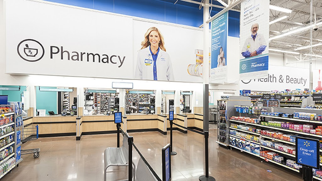 Walmart Pharmacy - department store  | Photo 2 of 4 | Address: 1901 Milwaukee Ave, Burlington, WI 53105, USA | Phone: (262) 767-1902