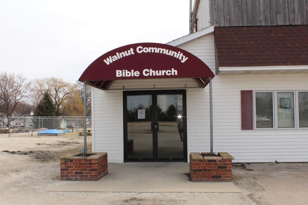 Walnut Community Bible Church | church | 125 Jackson St, Walnut, IL 61376, USA | 8153792645 OR +1 815-379-2645