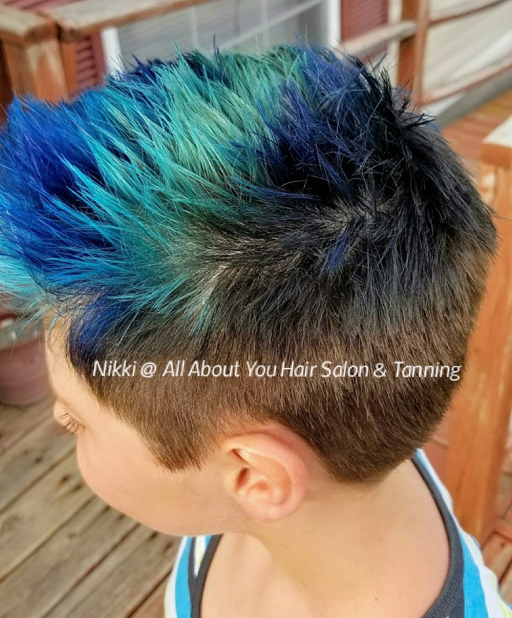Nikkis Hair Shenanigans at All About You Hair And Tanning Salon - hair care  | Photo 2 of 10 | Address: 9227 County Line Rd, De Motte, IN 46310, USA | Phone: (765) 761-7119