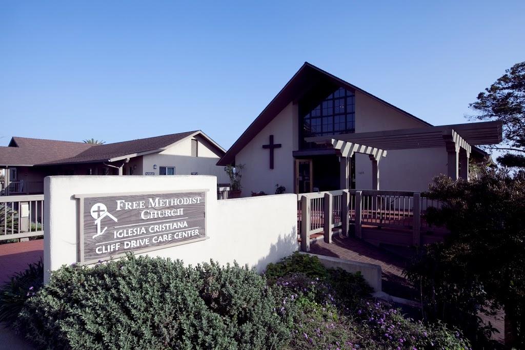 Free Methodist Church - church  | Photo 3 of 10 | Address: 1435 Cliff Dr, Santa Barbara, CA 93109, USA | Phone: (805) 965-1338