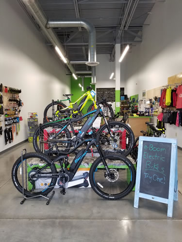 eBoom Electric Bikes - bicycle store  | Photo 4 of 10 | Address: 6 S Main St, Whitestown, IN 46075, USA | Phone: (317) 340-4156