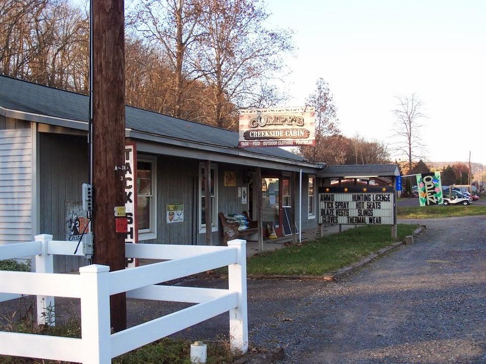 Gumpys Creekside Cabin - shoe store  | Photo 1 of 10 | Address: 2861 PA-42, Millville, PA 17846, USA | Phone: (570) 458-5131
